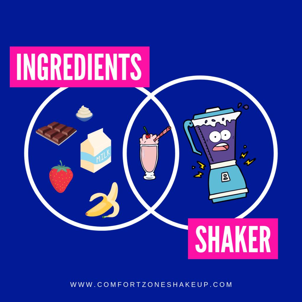 Comfort Zone Shake-Up - Ingredients