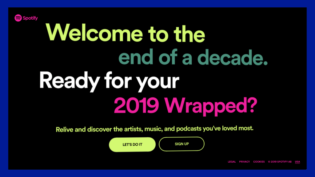 Comfort Zone Shake-Up wrapped 2019