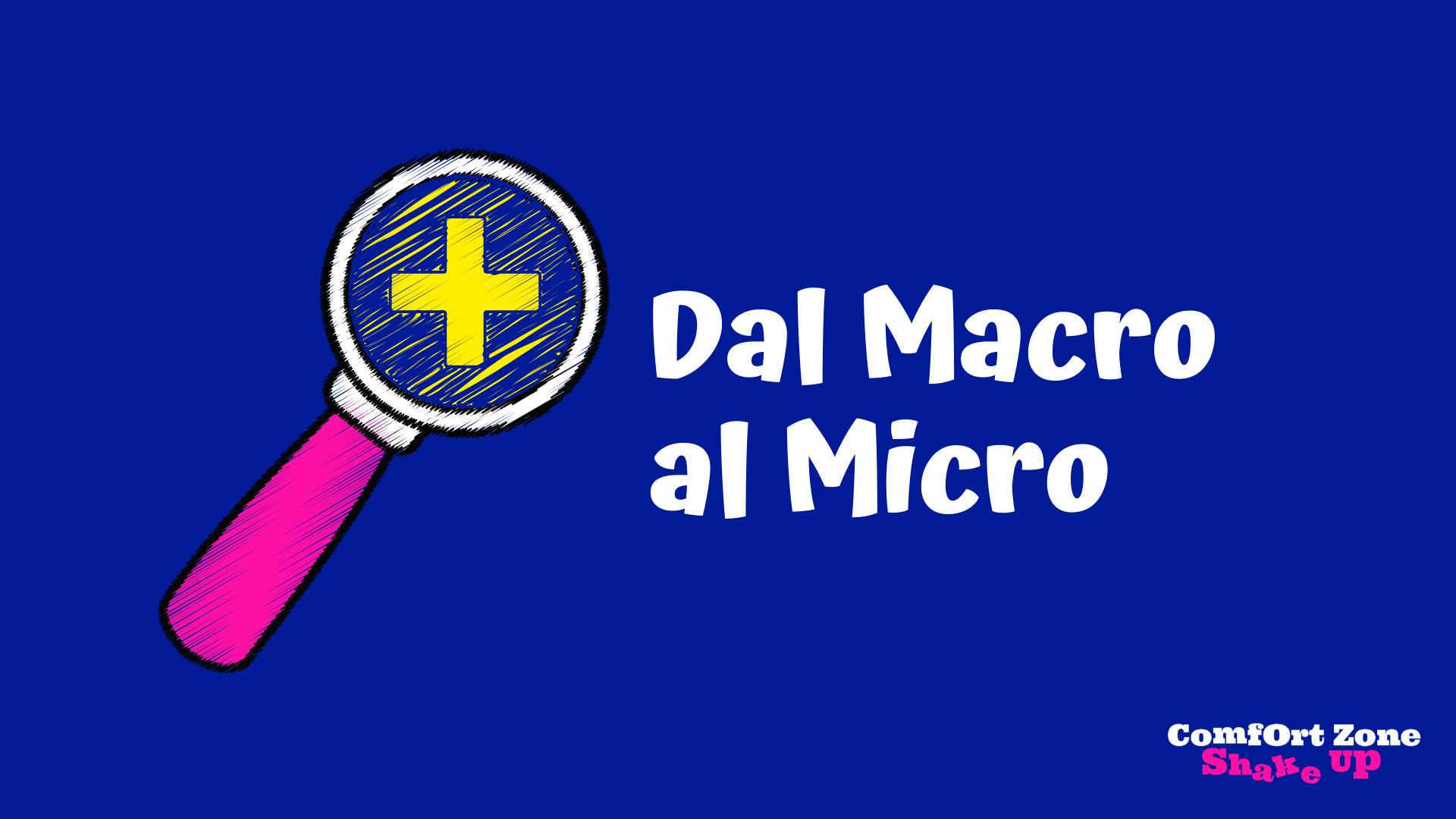 Dal Micro al macro usando le mappe di Google